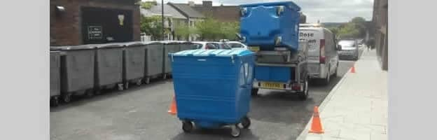 Wheelie Bin Cleaning In Newcastle